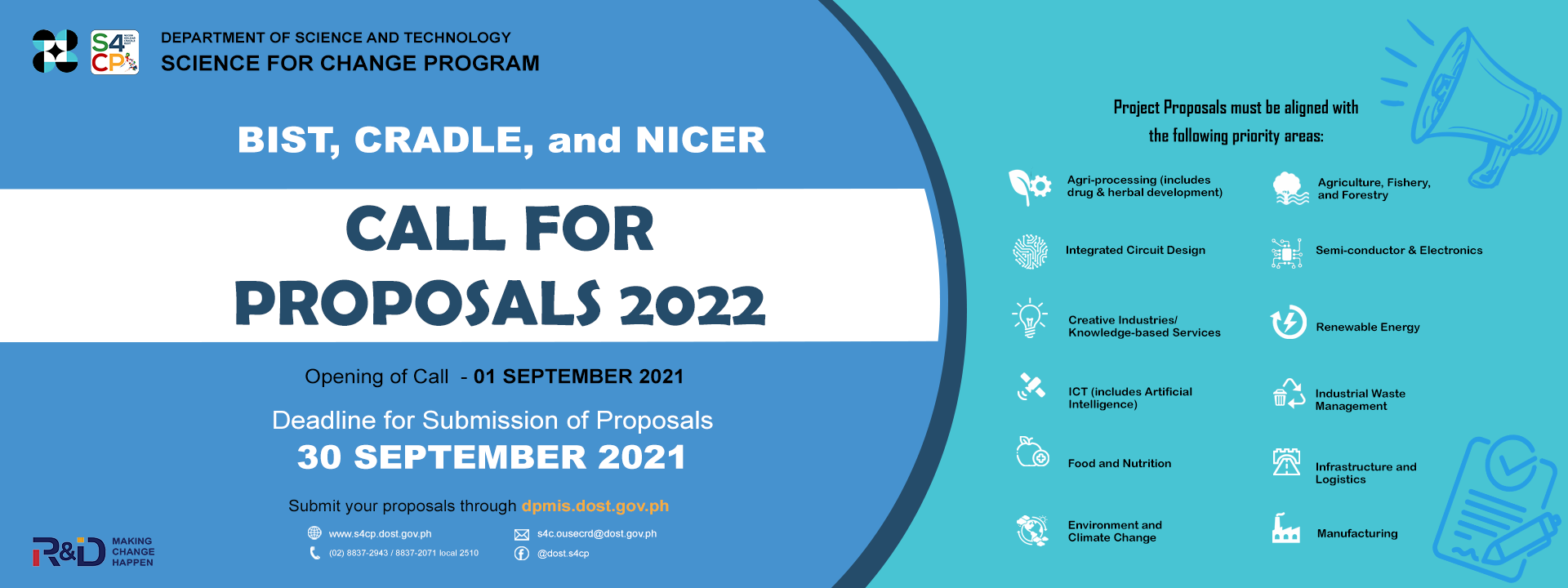 CALL FOR PROPOSALS 2022